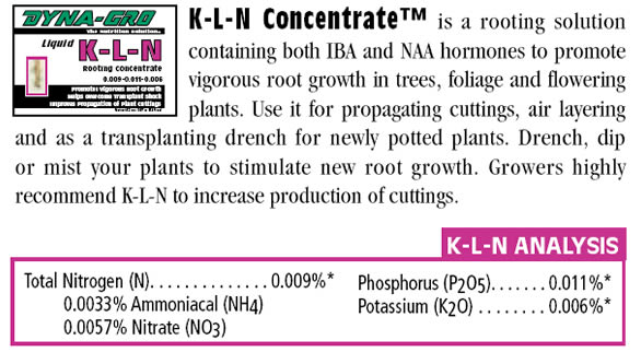 Dyna-Grow K-L-N Concentrate - KLN8