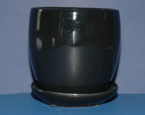 Glazed Pottery - Black