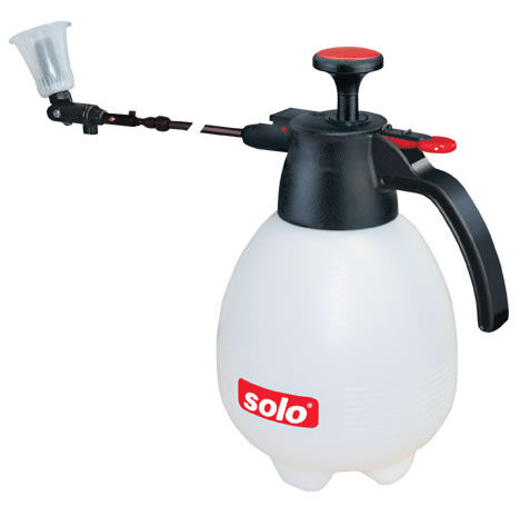 Pump Sprayer with Telescoping Wand