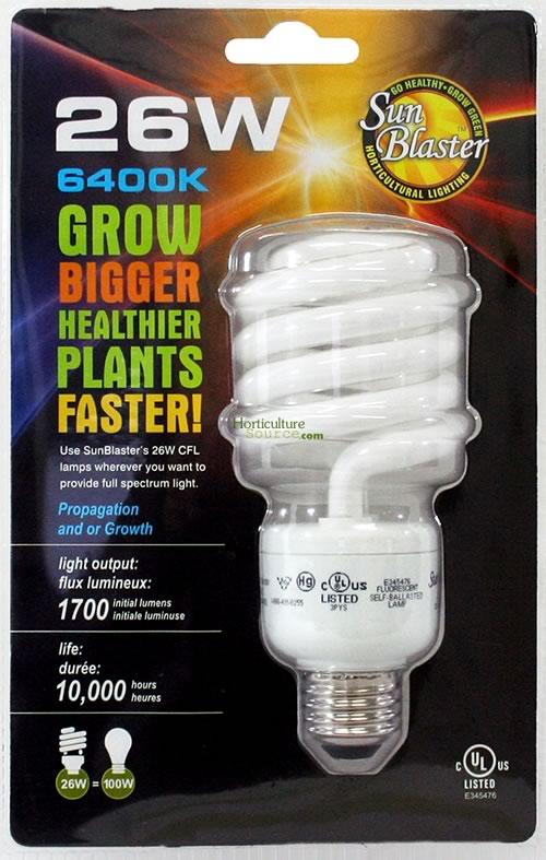 Hydrofarm Sunblaster 26w Cfl Bulb Cfl26w