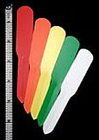 "Labels - Colored Plastic (5"" Plain)"