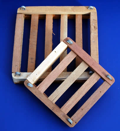 Wood Slat Mounts