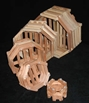 Wood Baskets - Octagonal